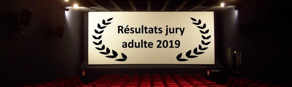 Résultat Jury adulte 2019